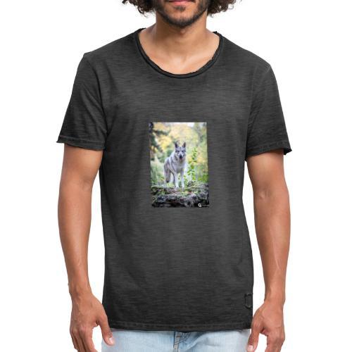 La Tanière des Chiens-Loups - T-shirt vintage Homme