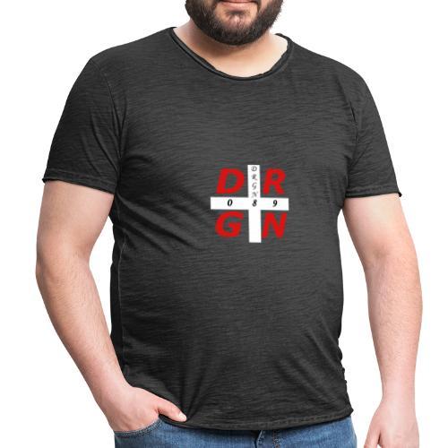 DRGN LOGO1 - Männer Vintage T-Shirt