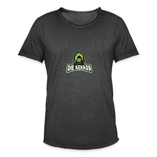 Die Kekkos - Männer Vintage T-Shirt