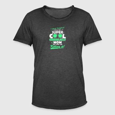 Super Cool infirmité motrice cérébrale maman - T-shirt vintage Homme