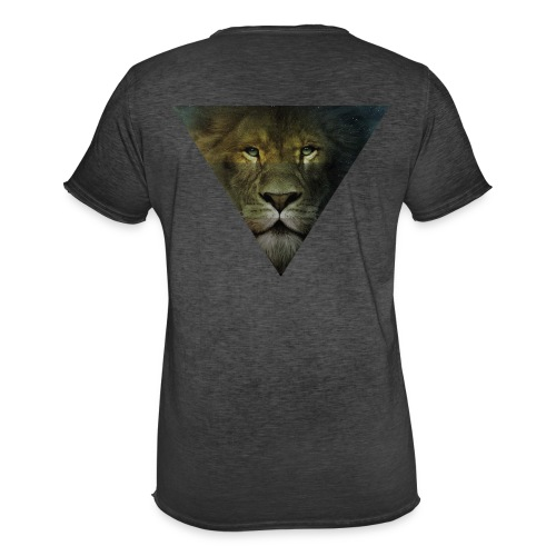 Lion Triangle Collection - T-shirt vintage Homme