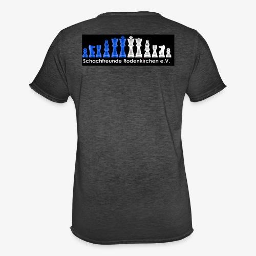 Schachfreunde Rodenkirchen Vereinshemd - Männer Vintage T-Shirt