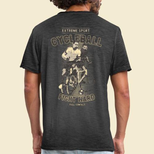 Radball | Fight Hard - Männer Vintage T-Shirt