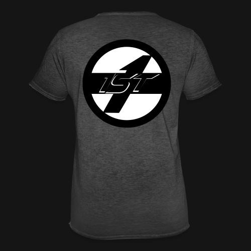 1ST Logo - Männer Vintage T-Shirt