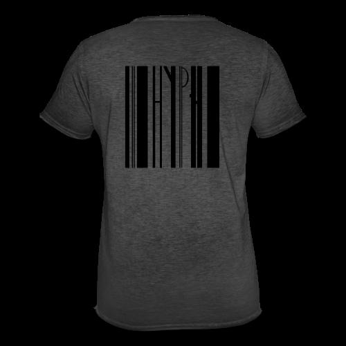 Barcode tee transparent - Männer Vintage T-Shirt