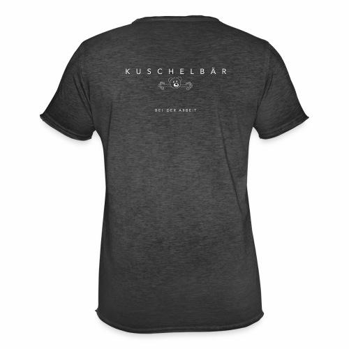 Kuschelbär bei der Arbeit - Männer Vintage T-Shirt