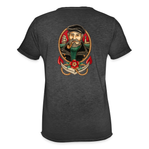SEA CAPTAIN TATTOO - Men's Vintage T-Shirt