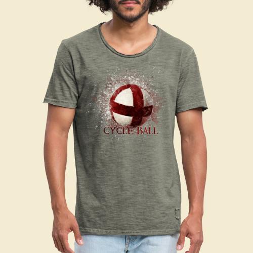 Radball | Cycle Ball - Männer Vintage T-Shirt