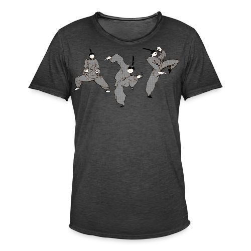 Kungbao - Martial Arts Kung Fu Kampfkunst Kombo - Men's Vintage T-Shirt