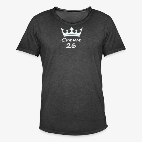 Crewe 26 Be A King (White Edition) - Men's Vintage T-Shirt