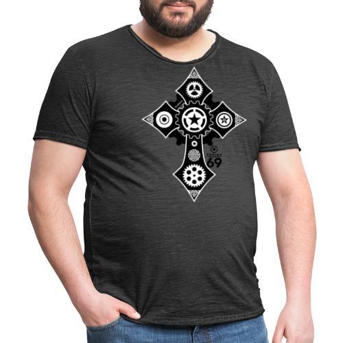 SERIES69 celtic cross - Männer Vintage T-Shirt