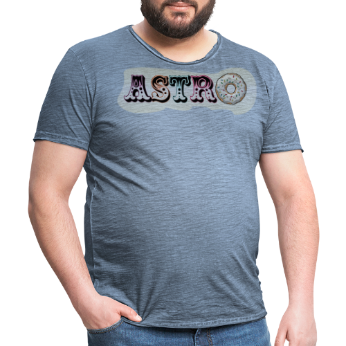ASTRO - T-shirt vintage Homme