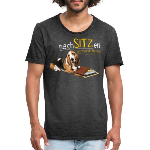 NEU: Nachsitzen - Teenager Langarmshirt - Männer Vintage T-Shirt