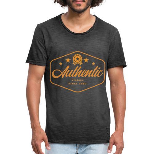MonkeyShy authentic logo - T-shirt vintage Homme