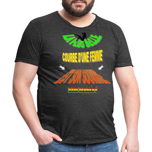 LA PLUS BELLE 👩👍 - T-shirt vintage Homme
