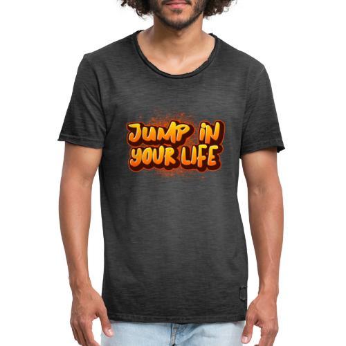 La vie... - T-shirt vintage Homme