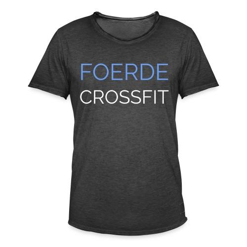 Foerde CrossFit - Männer Vintage T-Shirt