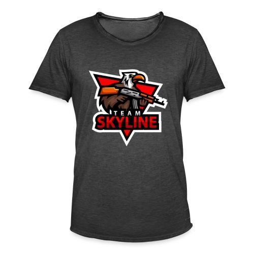 TeamSkyline - Männer Vintage T-Shirt
