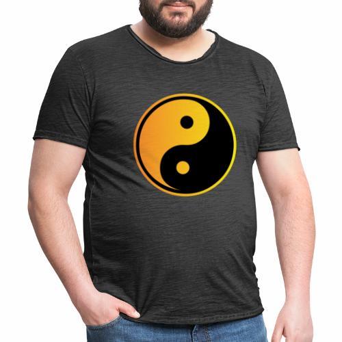 yin - yang - Männer Vintage T-Shirt
