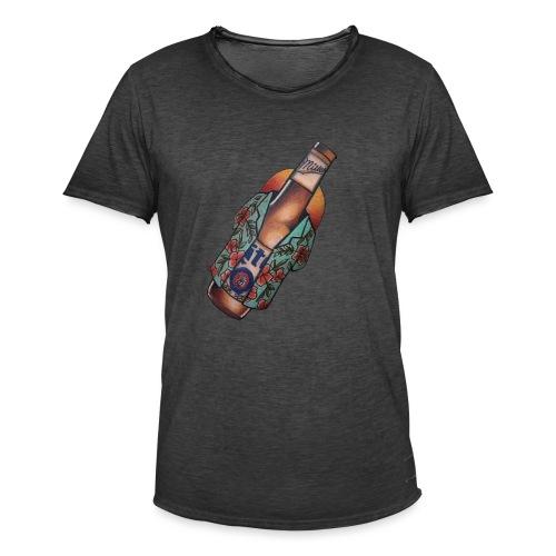Birra - Maglietta vintage da uomo
