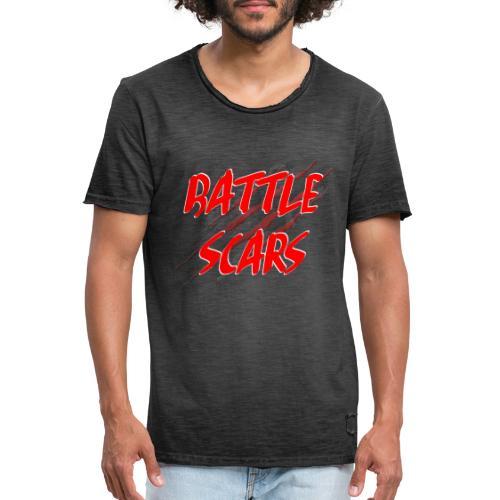 Battle Scars Merchandise - Men's Vintage T-Shirt