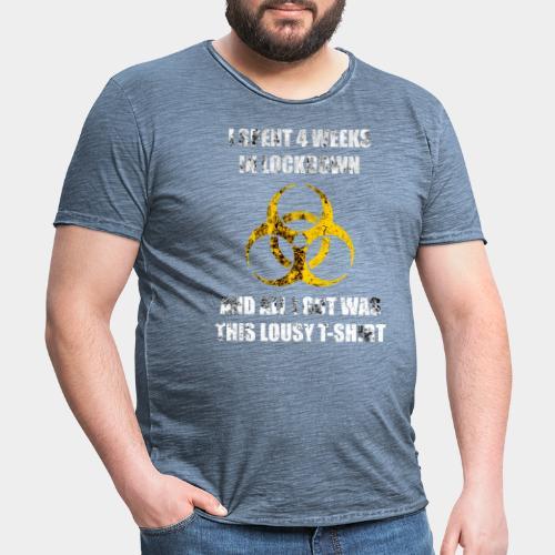 Lockdown - Men's Vintage T-Shirt