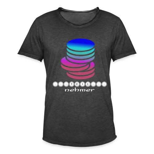 TEILnehmer - Männer Vintage T-Shirt