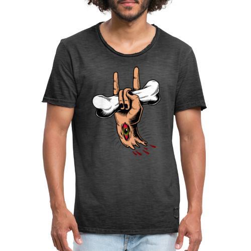 Rock Zombie - Camiseta vintage hombre