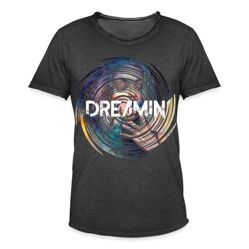 Dreamin Colorfull Print - Männer Vintage T-Shirt