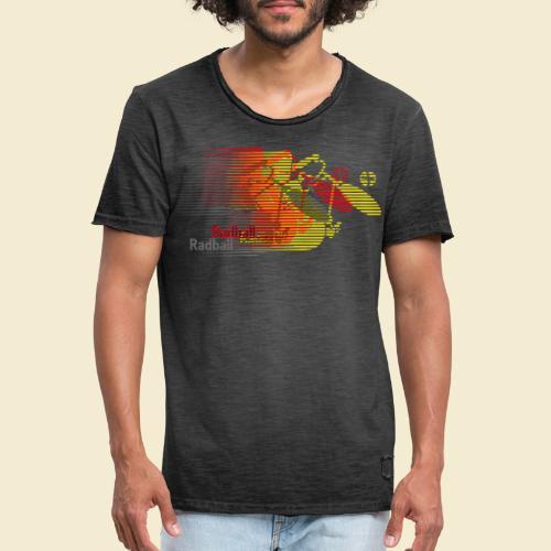Radball   Earthquake Germany - Männer Vintage T-Shirt