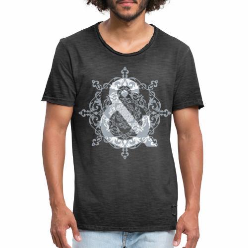 Escudo dark grey & ... - Camiseta vintage hombre