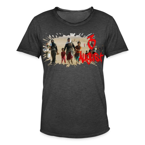 3 8 2014 gif E - Männer Vintage T-Shirt