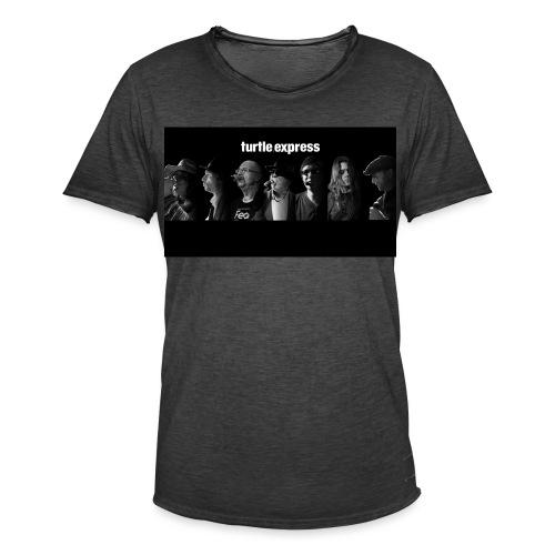 turtle.faces - Männer Vintage T-Shirt