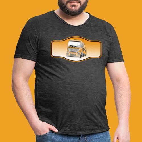 DerSimiGamer auf ein Schild - Männer Vintage T-Shirt