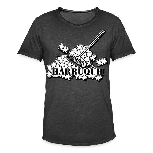 Harruquh - Mannen Vintage T-shirt