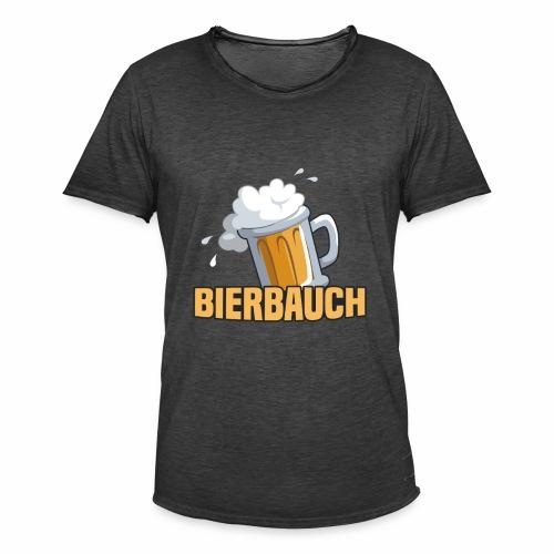 Bierbauch - Männer Vintage T-Shirt