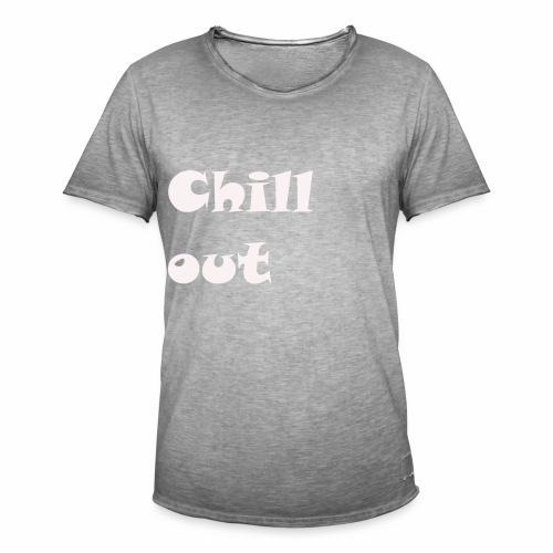 chill jugend ruhig Schriftzug geburtstag chillig - Männer Vintage T-Shirt