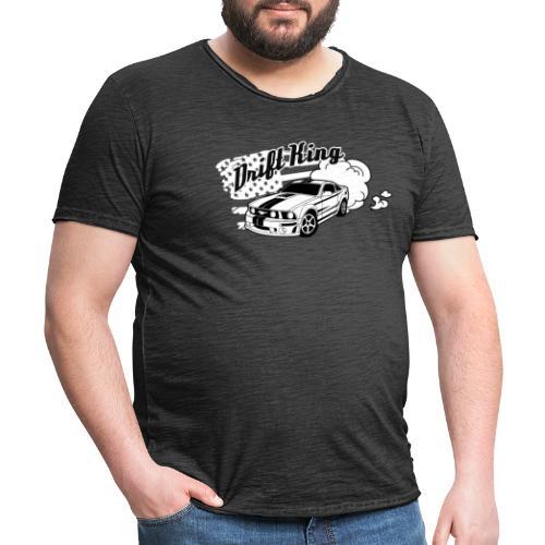 Drift King - Männer Vintage T-Shirt