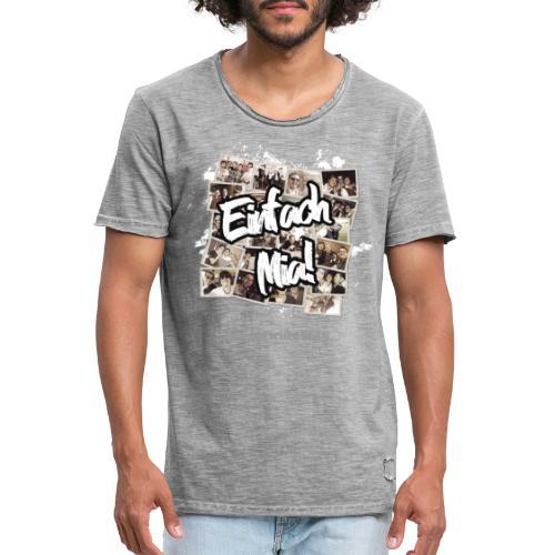Einfach Mia! - Männer Vintage T-Shirt
