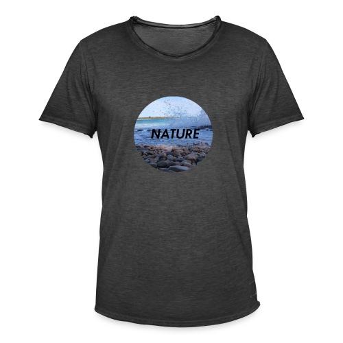 Nature Meer - Männer Vintage T-Shirt