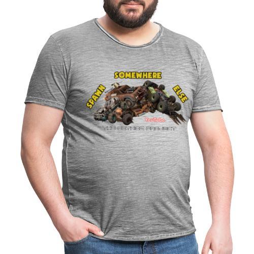 Spawn Somewhere Else ! - Men's Vintage T-Shirt