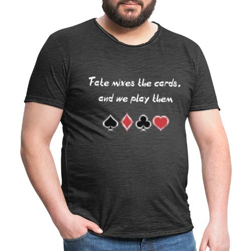 The letters of life - Camiseta vintage hombre