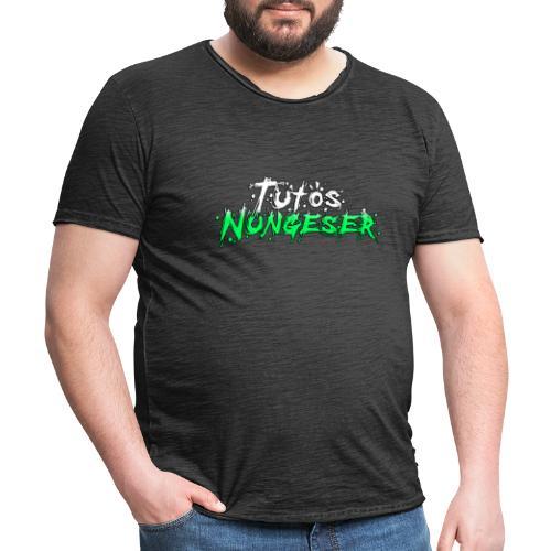 Tutos Nungeser - BLACKLIST - Camiseta vintage hombre