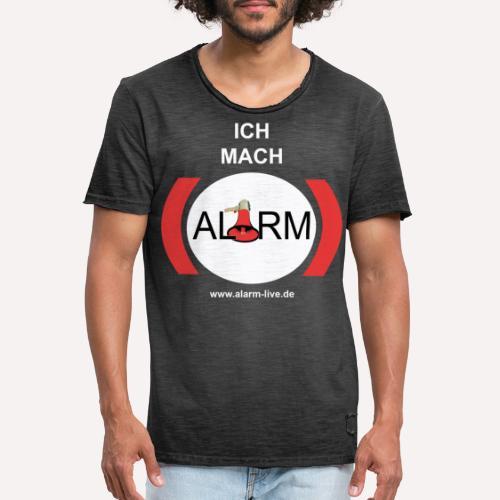 Ich mach Alarm - Männer Vintage T-Shirt