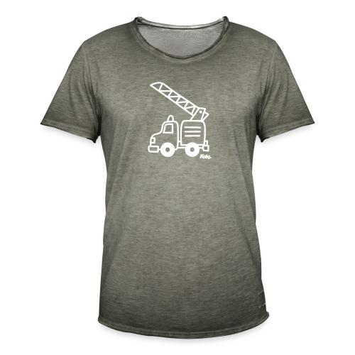 Feuerwehr - Männer Vintage T-Shirt