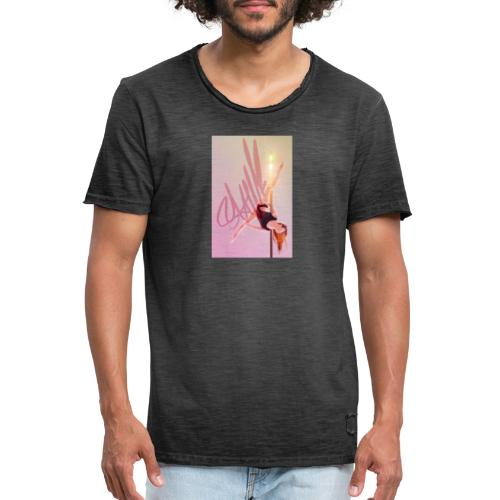 Pole Dance Lampe - Camiseta vintage hombre