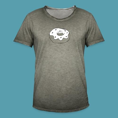 Donitsi - Miesten vintage t-paita