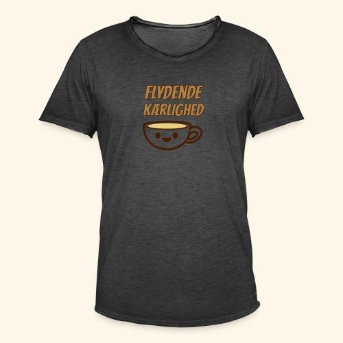 Flydende kærlighed - Herre vintage T-shirt