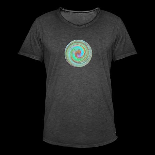 Illusion d'optique - T-shirt vintage Homme