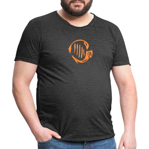 Aquarium Adventures Logo - Men's Vintage T-Shirt